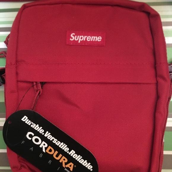 Supreme Shoulder Bag Ss18 Red